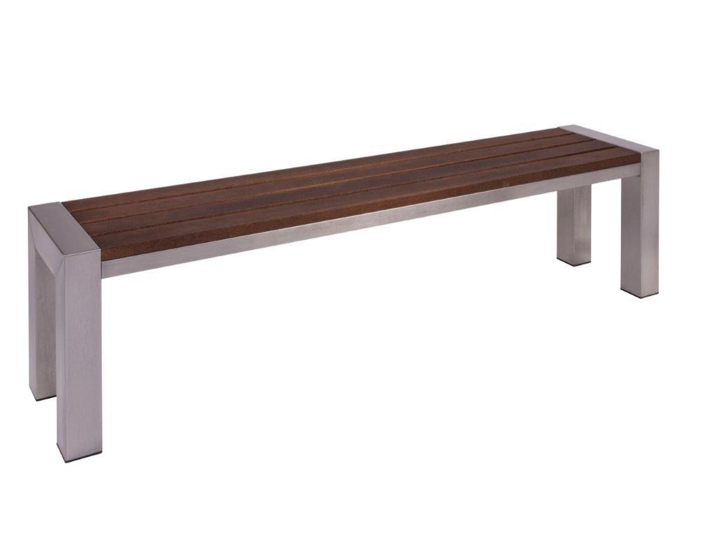 holzbank design latest moderne bank massivholz mit rckenlehne cubus by gg designart with. Black Bedroom Furniture Sets. Home Design Ideas