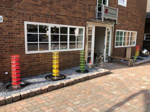 Exklusive Edelstahlmöbel für Haus und Garten