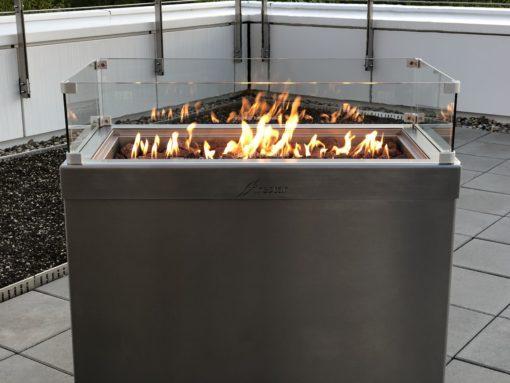Firestar Ambiente Xtra-Large Edelstahl 5